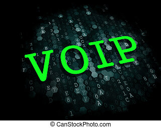 VOIP. Information Technology Concept. - VOIP - Information...