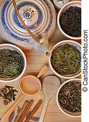 Chinese Green Tea - Selection of Chinese Green Tea - Dragon...