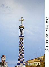 Tower with a cross