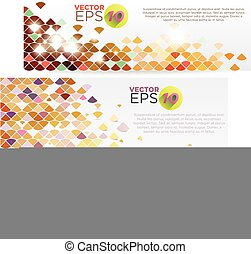 Colorful Grid Banners