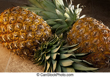 Pineapples - The Pineapple is a large juicy tropical fruit...