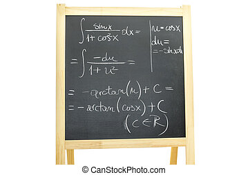 Trigonometry - Complicated trigonometry equation written on...