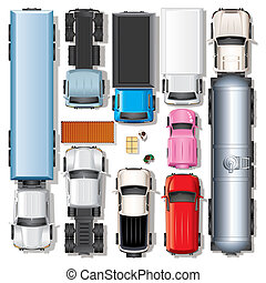 coches, Camiones, Colección