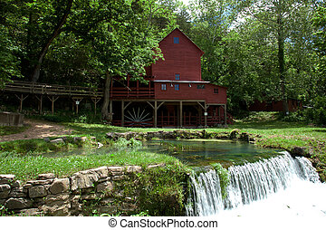 Hodgson Mill in Ozark County Missouri.