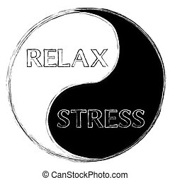 Relax or stress - Circle of life