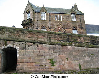 House in Berwick-upon-Tweed - picture was taken in...
