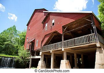 Rockbridge Mill in Ozark County Missouri.