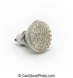 Isolated LED Light Bulb 2 - Modern LED Light Bulb on White...