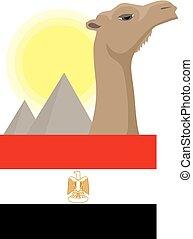 Egypt icon - Creative design of egypt icon