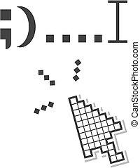 Web cursor