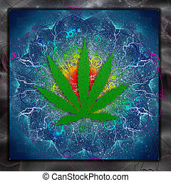 Marijuana, arte