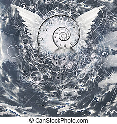 WIngs and time spiral