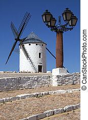 La Mancha Windmills - Spain - Windmill in Campo de Criptana...