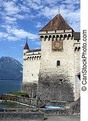 Ctateau de Chillon - Lake Geneva - Switzerland - The...