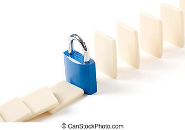 Domino and Lock, Concept of business damage control
