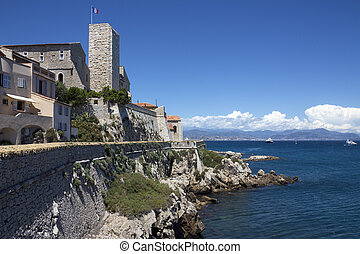 Resort of Antibes - South of France - The resort of Antibes...