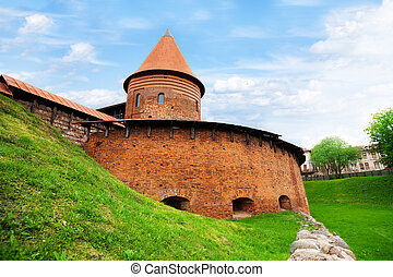 Kaunas fort - Old fort and the only remaining Tower of...