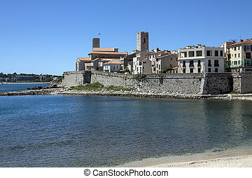 Antibes - South of France - The resort of Antibes in the...