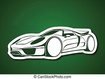 Super auto over green