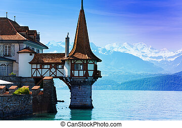 Tower of Oberhofen castle - Beautiful little tower of...