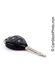 Key car on white background