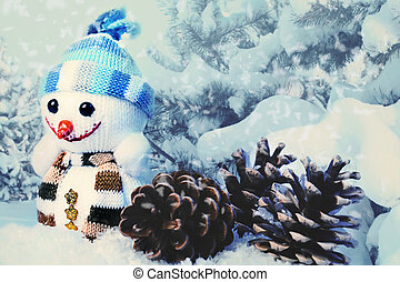 Xmas funny backgrounds for your design