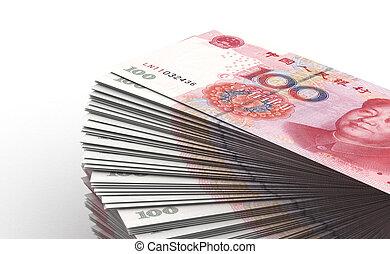 Stack of Yuan