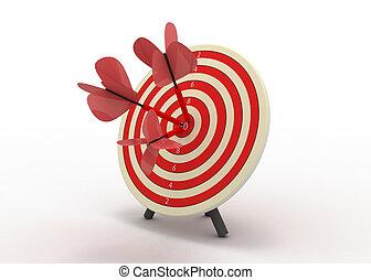 darts success concept