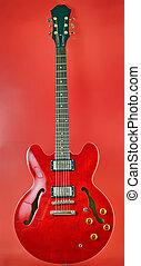 rouges, Électrique, guitare