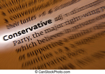 Conservative - Dictionary Definition