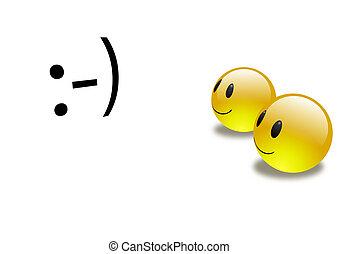 Aqua Emoticons 3d -