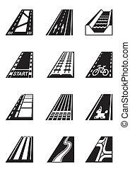 Different types of roads
