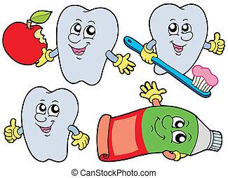dente, cobrança, 2