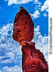 Balanced Rock Arches National Park Moab Utah - Balanced Rock...