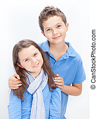 Portrait of a Brother and Sister