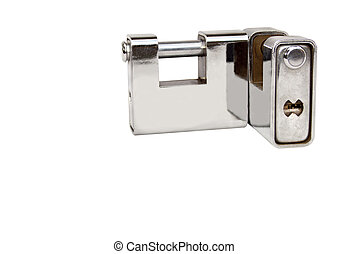 Two Isolated Solid Heavy Duty Safety Locks - Two isolated...