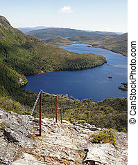 Cradle Mountain NP, Australia - Footpath on Cradle Mountain...