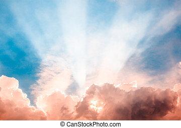 Heaven light ray