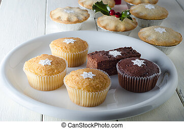 Christmas Cupcakes and Mince Pies