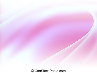 Pink Abstract Curved Background