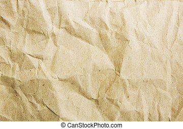 Recycle Paper Crumpled Style Background