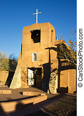 San Miguel Mission Santa Fe - Santa Fes oldest church at...