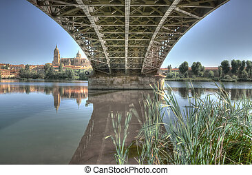 Bridge Sanchez Fabres - Under the Bridge Sanchez Fabres in...