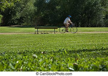サイクリスト, 公園