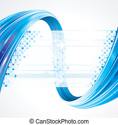 Abstract Background - Abstract background of technology...