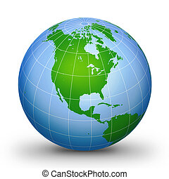 WorLd GloBe Geographic 2