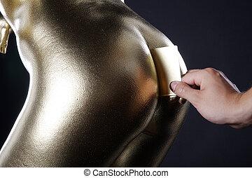 黃金, 卡片