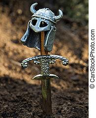 Warrior\'s, grave