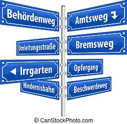 StreetSigns AdministrativeProcedure - Street signs with...