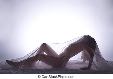 sensual nude image of a woman